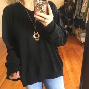 100% Cashmere Slouchy Oversized Grandpa Sweater